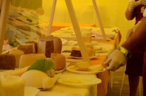 formaggi in degustazione a Buongusto 2012